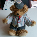 The English Teddy Bear Company School Boy Teddy approx 10 inch